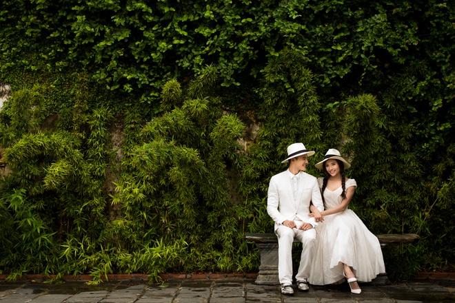 ảnh cưới của lương thế thành và trúc diễm