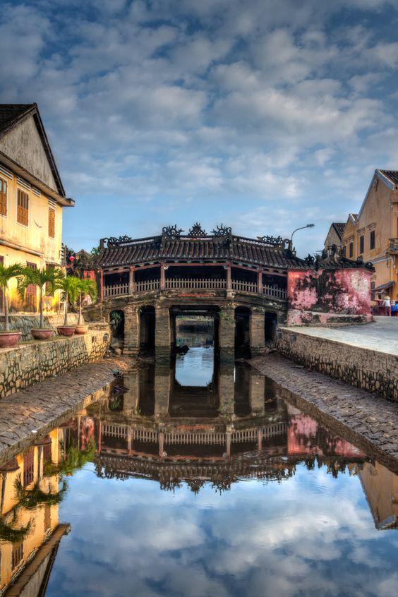 chùa Cầu, sông Hoài Hội An