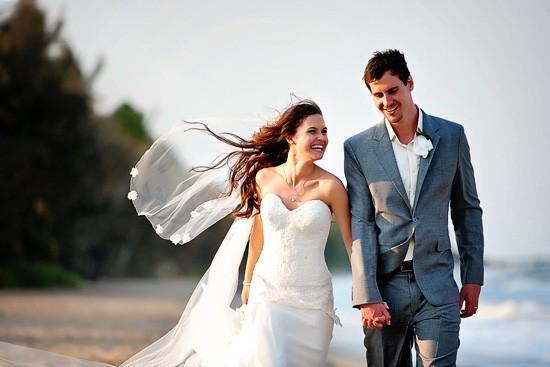ảnh cưới dẹp trên bãi biển