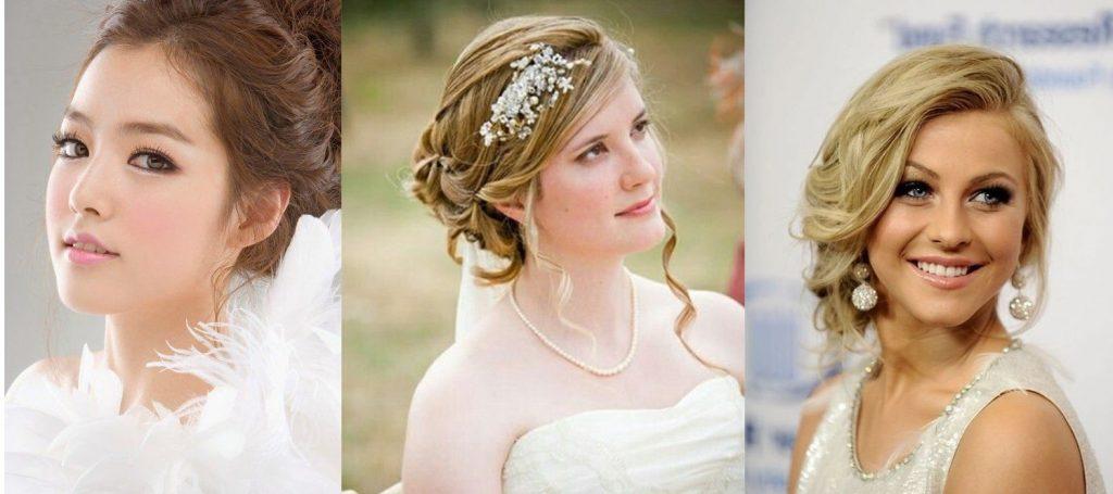 trang điểm theo khuôn mặt cô dâu