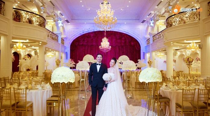không gian cưới tại Queen Bee